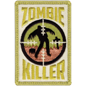 Red Zombie Killer Morale Patch