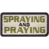 Spraying And Praying Morale Patch