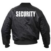 Mens MA-1 Flight Security Jacket