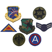 G.I. Military Assorted 50 Pieces Military Patchesa