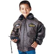 Kids WWII Aviator Flight Jacket