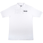 Mens Police Printed Golf T-Shirt