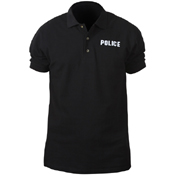 Mens Law Enforcement Printed Police Polo T-Shirt