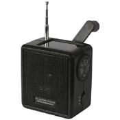 Solar-Wind Up Radio