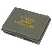 7 Color Camo Face Paint Compact