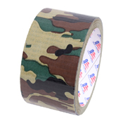 2 Inch Woodland Camo Duct Tape