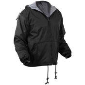 Mens Reversible Lined Jacket with Hood