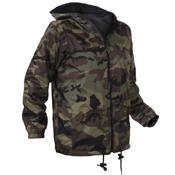 Kids Reversible Camo Jacket With Hood