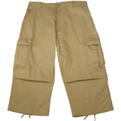 Mens 6 Pocket BDU Capri Pant