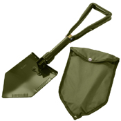 Deluxe Tri-Fold with Cover Shovel