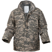 Mens Digital Camo M-65 Field Jacket