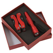 Multi-tool and Flashlight Gift Set