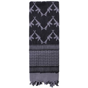 Crossed Rifles Shemagh Tactical Scarf