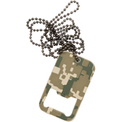 Dog Tag Bottle Opener with Chain