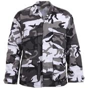 Mens Color Camo BDU Shirt