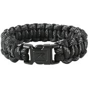 Black Reflective Paracord Bracelet