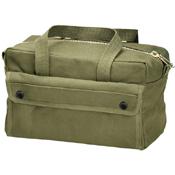 G.I. Type Mechanics Tool Bag with Brass Zipper