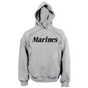 Mens Marines Pullover Hooded Sweatshirt