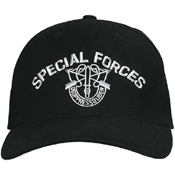 Special Forces Supreme Low Profile Insignia Cap