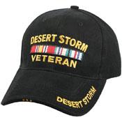 Deluxe Low Profile Cap -Desert Storm Vet