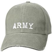 Vintage Army Low Profile Cap