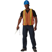 High Visibility Mesh Workmans Safety Vest