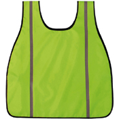 High Visibility Oxford Safety Green Safety Vest