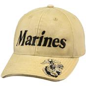 Vintage Deluxe Low Profile Insignia Cap Marines