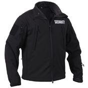 Mens Special Ops Soft Shell Security Jacket