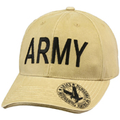 Vintage Deluxe Army Low Profile Insignia Cap