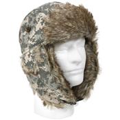 Camo Fur Flyers Hat