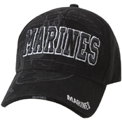 Deluxe Low Pro Marines Globe And Anchor Shadow Cap