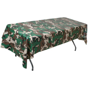 Woodland Camo Table Cloth