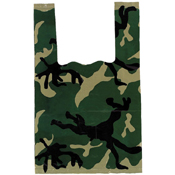 Woodland Camo Medium Shopping Bag