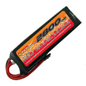 VB VB-LiPO2800H25C-7.4V 25C Cont. LiPO battery