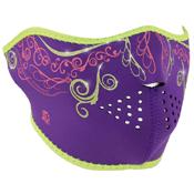 Half Mask Neoprene Purple Venetian