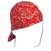 Flydanna and reg Cotton Red Paisley